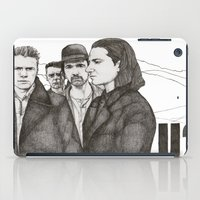 u2 iPad Cases featuring Joshua Tree by Paul Nelson-Esch Art