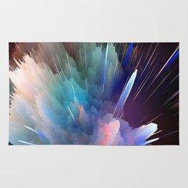 Color Burst Design Rug