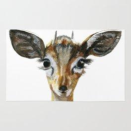 Deer Woodland Animal Baby Rug