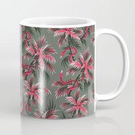 Snake Palms - Light Vintage Coral Coffee Mug