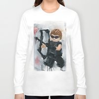avenger Long Sleeve T-shirts featuring Avenger Lego by Toys 'R' Art