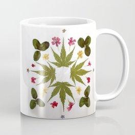 Dried Leaf Mandala Coffee Mug