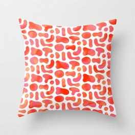 Secluded Rouges Throw Pillow