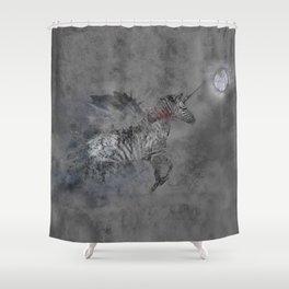 Safari moon Shower Curtain