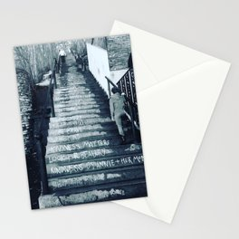 The Moral Stairs Stationery Cards