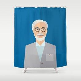 Hayao Miyazaki Shower Curtain