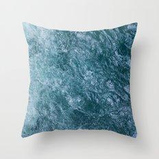 Mountain Waters II (Norway) Throw Pillow
