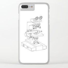 microscope Clear iPhone Case