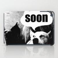meme iPad Cases featuring Dog meme: soon by Capadochio
