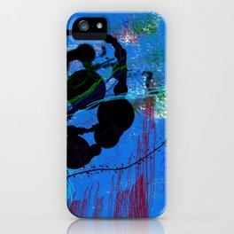 Gato Garabato iPhone Case