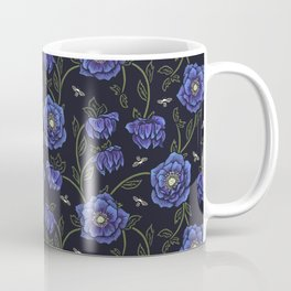 Midnight Hellebore Coffee Mug