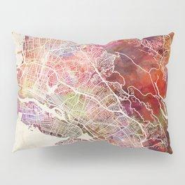 Oakland map Pillow Sham