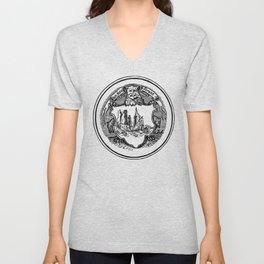 Conquest of the New World Unisex V-Neck