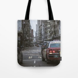 Hong Kong Street Tote Bag