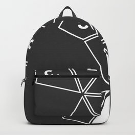 Grey Unrolled D10 Backpack