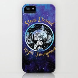 A Court Of Mist And Fury - Stars Eternal Night Triumphant iPhone Case