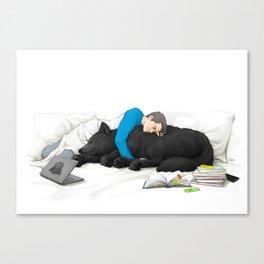 Student Life - part 2 Canvas Print