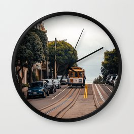 San Francisco Trolley Wall Clock