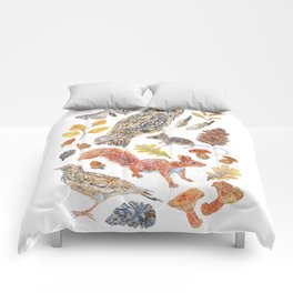 Autumn Wildlife Comforters