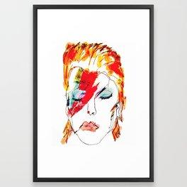 """""""Bowie"""" Framed Art Print"""