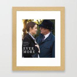 """""""Ever more."""" Framed Art Print"""