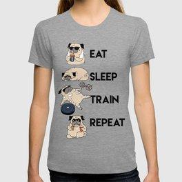 Eat Sleep Train Repeat T-shirt
