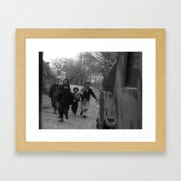 Backward and Forward II Framed Art Print