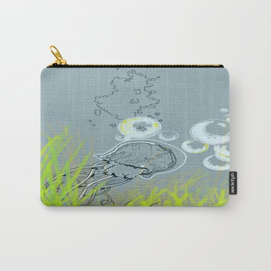 Squid Redone Carry-All Pouch