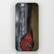 The coming storm front iPhone & iPod Skin