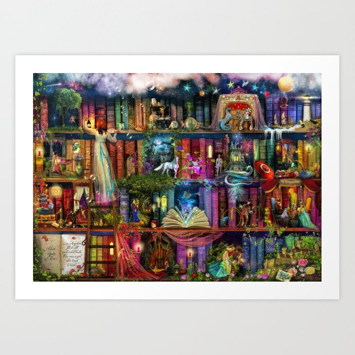 Whimsy Trove - Treasure Hunt Kunstdrucke
