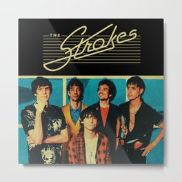 the personil strokes band tour 2020 ngamein Metal Print
