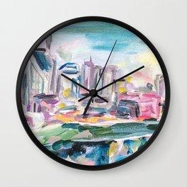 Nashville Living Wall Clock