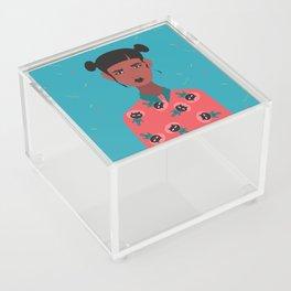 Hairbuns & PrintShirts Acrylic Box
