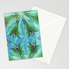Deforestation Rainbow Flowers  ID:16165-130926-19511 Stationery Cards