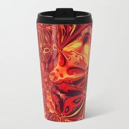 Magma Fractal Flow Travel Mug