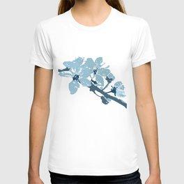 Blue Cherry Blossoms T-shirt
