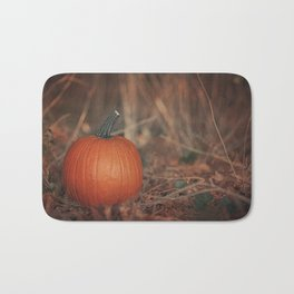 Forest Pumpkin Bath Mat
