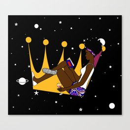 Unbothered Queen Canvas Print