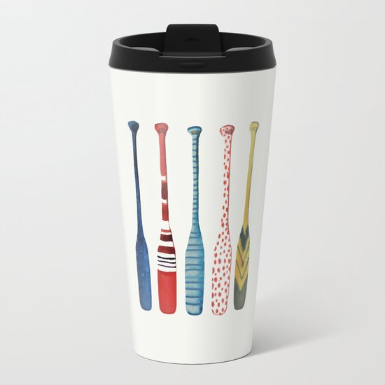 les rames Metal Travel Mug
