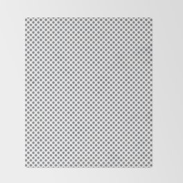 Sharkskin Polka Dots Throw Blanket