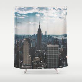 NEW YORK - CITY MANHATTAN - EMPIRE STATE BUILDING - PHOTOGRAPHY Shower Curtain