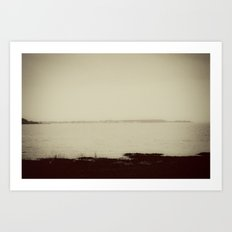 Long Island Sound - New Haven Art Print