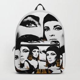 black & gold Cleo Backpack