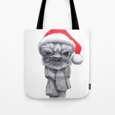 Christmas Ostrich red G145 Tote Bag