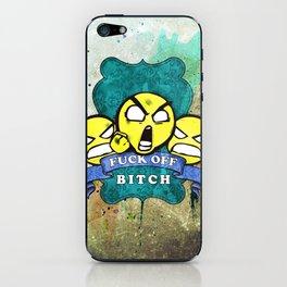Fuck Off iPhone Skin
