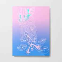 Art School 3 Metal Print