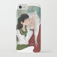inuyasha iPhone & iPod Cases featuring What a surprise! by Madoso