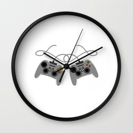 """Great Nice Game Shirt For Gamers """"I Level Up Big Bro"""" T-shirt Design Console  Wall Clock"""