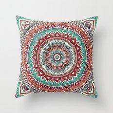 Hippie mandala 1 Throw Pillow