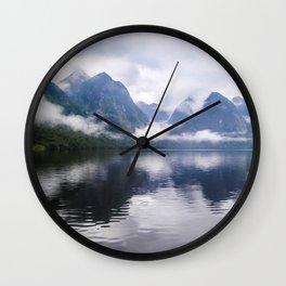 Mesmerizing Reflections Wall Clock